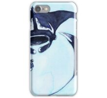 Postcards for the Reef 13: Manta Rays and Me iPhone Case/Skin