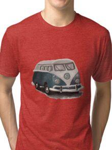 VW Camper Van Tri-blend T-Shirt