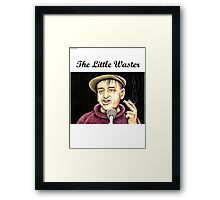 Bobby Thompson : The Little Waster Framed Print