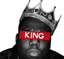 King Biggie by FreshPrintsCo