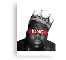 King Biggie Metal Print