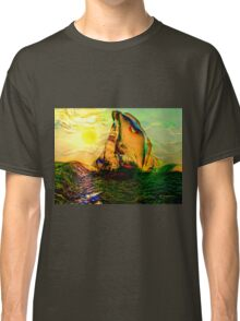 SAILING ON FLORIDA WATERS, by E. Giupponi Classic T-Shirt