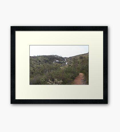 Lesmurdie Falls Framed Print