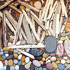 Landscape With Sticks and Stones by Richard Klekociuk