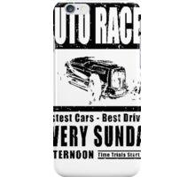 Auto Races iPhone Case/Skin
