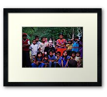 Guaymi Indians Framed Print