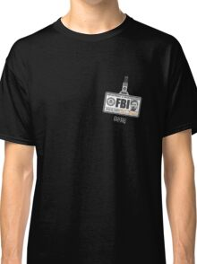 Bert Macklin: Name Tag Classic T-Shirt