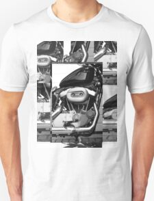 Harley Engine Mashup Unisex T-Shirt