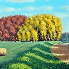 October Hay by RickHansen