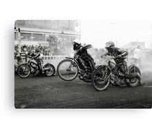 Speedway - Accelerating away II Canvas Print