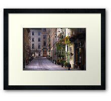 the unbearable lightness of being Framed Print