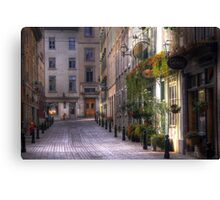 the unbearable lightness of being Canvas Print