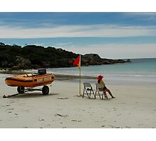Boat Harbour Beach Surf Rescue Photographic Print