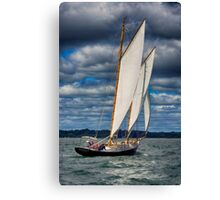 Sailing Weather Canvas Print