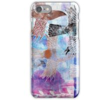 The Sky was Full of WIngs iPhone Case/Skin