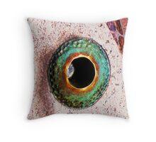 Fish Eye Throw Pillow