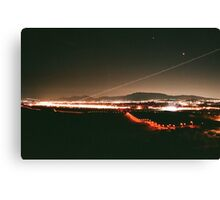 Airplane Take off (analogue) Canvas Print