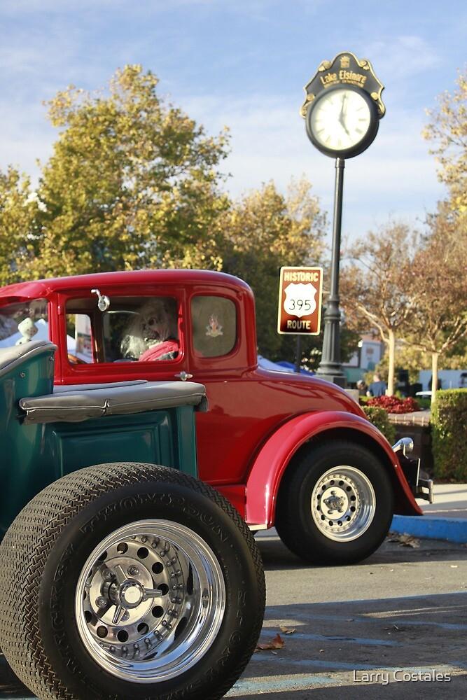 Hot Rod Wheels - Lake Elsinore by Larry Costales