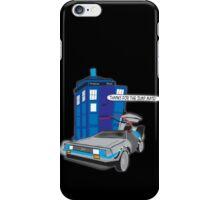Time Travel Jump Start iPhone Case/Skin