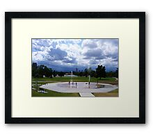 Summertime Blues, Natural History Museum Framed Print