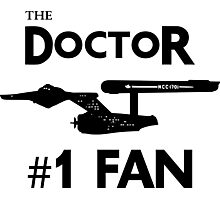 The Doctor #1 Fan Photographic Print