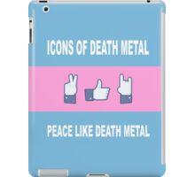 Peace Like Death Metal iPad Case/Skin