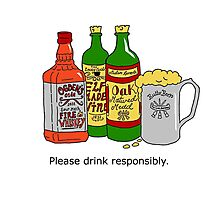 Please Drink Responsibly. Photographic Print