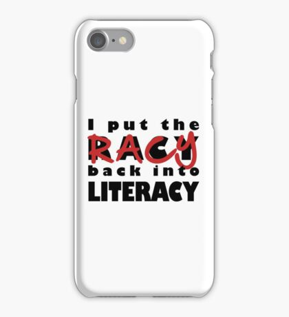 Racy Librarian iPhone Case/Skin