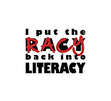 Racy Librarian Photographic Print
