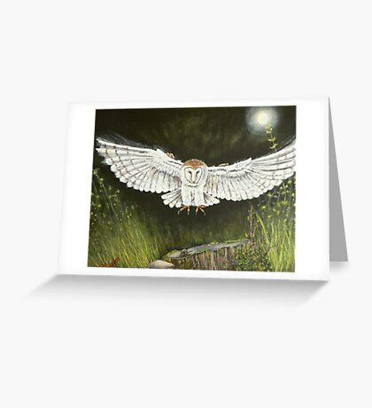 Ghost hunter Greeting Card