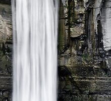 Taughannock Falls Waterfall Landscape by Christina Rollo