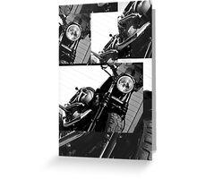 Harley Mashup Greeting Card