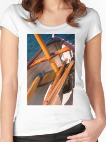 Sail Time Women's Fitted Scoop T-Shirt