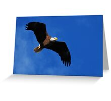 Wings of Glory Greeting Card