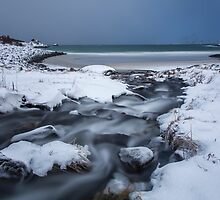 Icy Stream by John Dekker