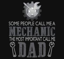 I'm a mechanic and I'm a dad by sophiafashion