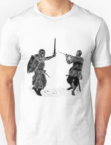 For victory wear a t-shirt: Medieval knights fight! T-Shirt