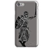 For victory wear a t-shirt: Medieval knights fight! iPhone Case/Skin