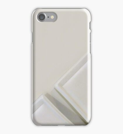 White chairs iPhone Case/Skin