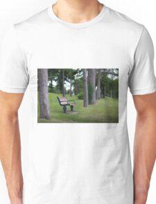 Mumbles Remembrance bench Unisex T-Shirt
