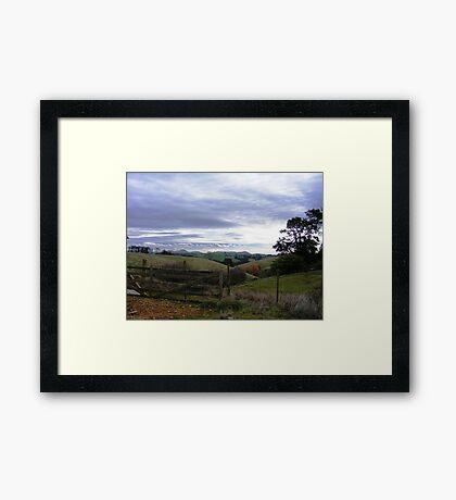 Rural Delight Framed Print