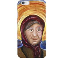 Babushka Madonna  iPhone Case/Skin