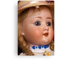 Daisy - Bisque Head Doll Canvas Print