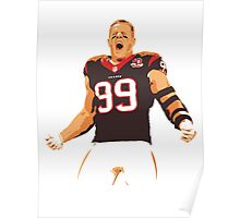 JJ Watt - Houston Texans Poster