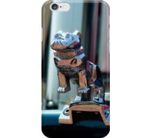 Barking up to the wrong tree Mack! Vintage lorry chrome object. iPhone Case/Skin