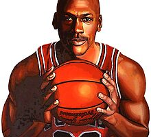 Michael Jordan by FreshPrintsCo