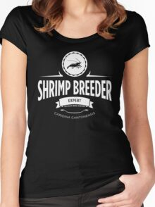Shrimp Breeder - Expert Women's Fitted Scoop T-Shirt