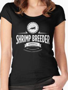 Shrimp Breeder - Apprentice Women's Fitted Scoop T-Shirt