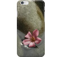 Flowers in the brook iPhone Case/Skin