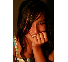 Leilani Posing Photographic Print